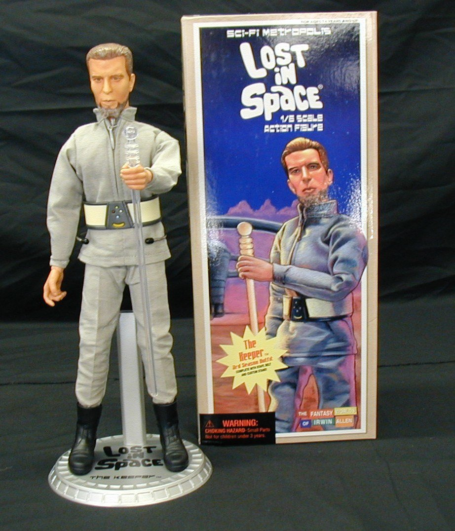 Executive Replicas Lost in Space The Keeper 12-Inch Action Figure