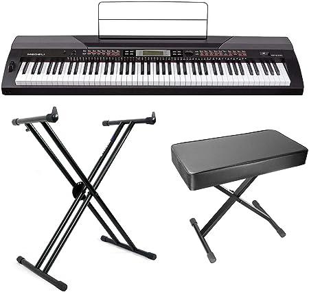 MEDELI SP4200 - Piano digital con martillo de 88 teclas y ...