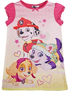 e7b448c2a8 Girls Paw Patrol Nightdress Skye Everest Nighty Character Pyjamas Nightie  Size UK 2-6 Years