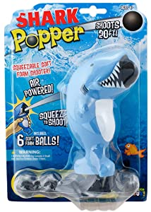 Hog Wild Shark Popper Foam Battle Toy