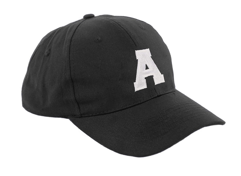 Morefaz New Boy Girl Adjustable Baseball Cap Children School Caps Kids Hat Sport Alphabet A-Z MFAZ Ltd