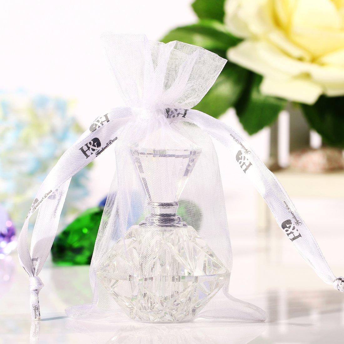 Minifrasco de perfume H&D de estilo vintage, vacío, rellenable.: Amazon.es: Hogar