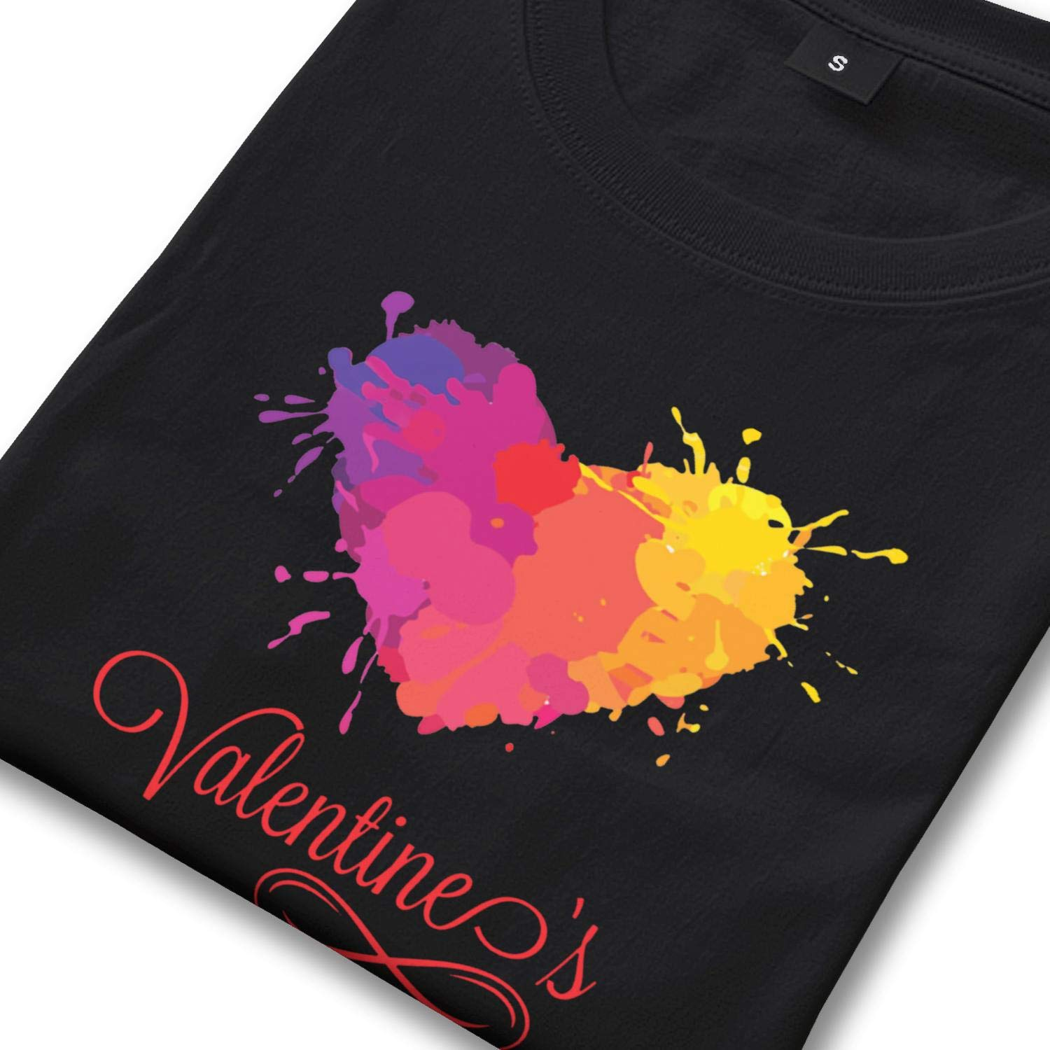 Mens t Shirts Valentines Day for Cupid Ice Skate Gift Graphic t-Shirt for Men Casual Premium Tshirts