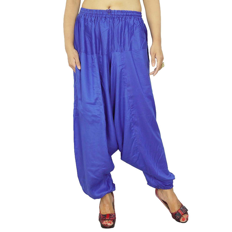 Hippie Baggy Yoga Harem Aladdin Hose Harem Frauen Indischer Hosen