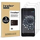 iVoler [3 Unidades] Protector de Pantalla para BQ Aquaris X5 Plus, Cristal Vidrio Templado Premium