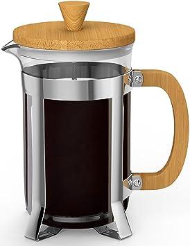 vremi prensa francesa – 8 taza cafetera eléctrica Premium resistente al calor vidrio de borosilicato Pot