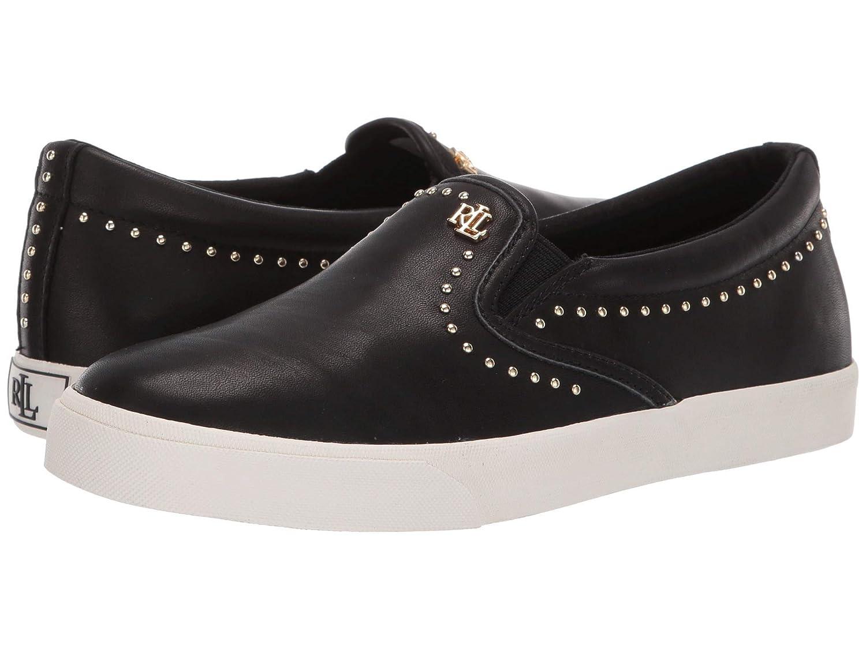 値段が激安 [LAUREN Ralph Lauren(ローレンラルフローレン)] レディースウォーキングシューズカジュアルスニーカー靴 [並行輸入品] Ria II [並行輸入品] B07N8G6CHS Super Black Super Super Soft Leather 23.5 cm B 23.5 cm B|Black Super Soft Leather, 具志頭村:21dd53c3 --- a0267596.xsph.ru