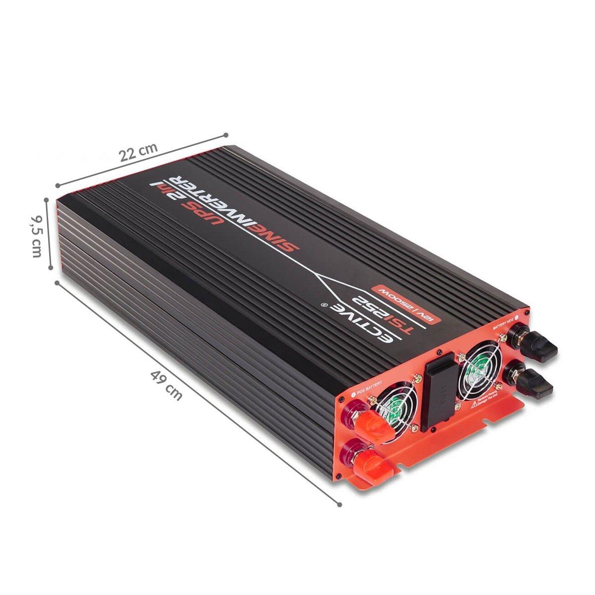 Fernbedienung f/ür Wechselrichter mit Ladestandsanzeige KS02