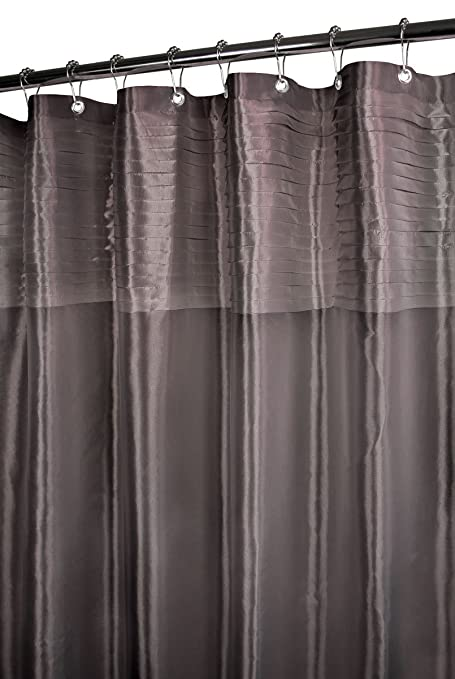 Park B Smith Tuxedo Pleat Watershed Shower Curtain Platinum 72 By Amazonin Home Kitchen