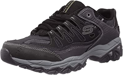 skechers memory foam shoes amazon black