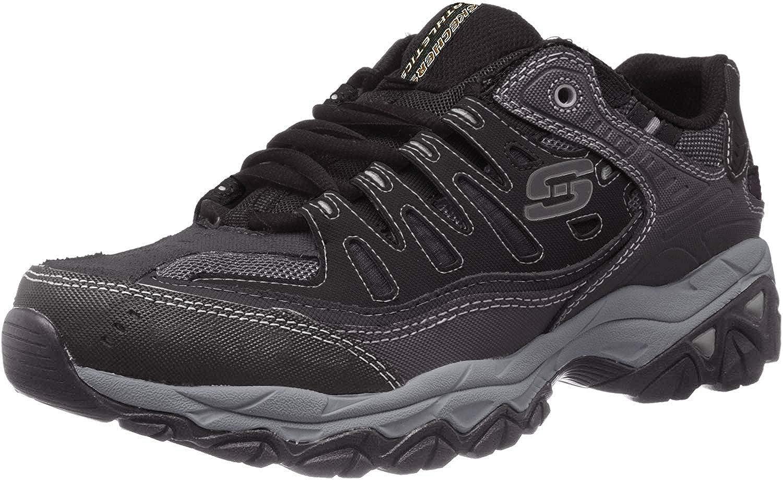 Skechers Men s Afterburn Memory-Foam Lace-up Sneaker