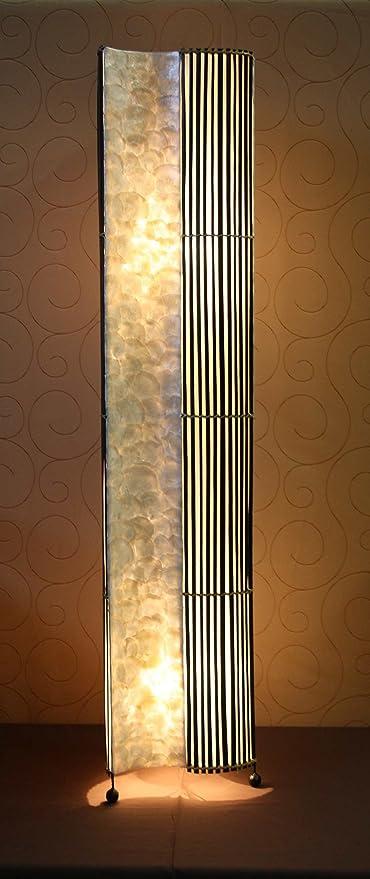 Lámpara de pie asiatica Bali Dua (LA22-39), Decoración ...