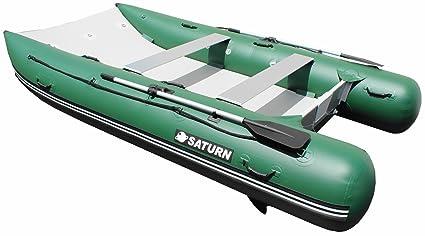 Amazon.com: Saturn 12 ft hinchable Mini Cat, Verde: Sports ...