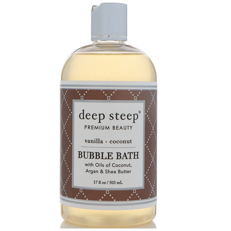 Deep Steep classic bubble bath, vanilla coconut, 17 fl. oz 30150
