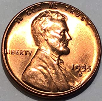 1955-S Lincoln Cent Red Brilliant Uncirculated