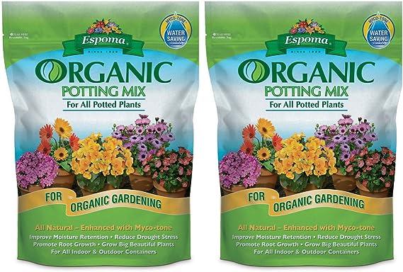 Espoma AP8 8-Quart Organic Potting Mix