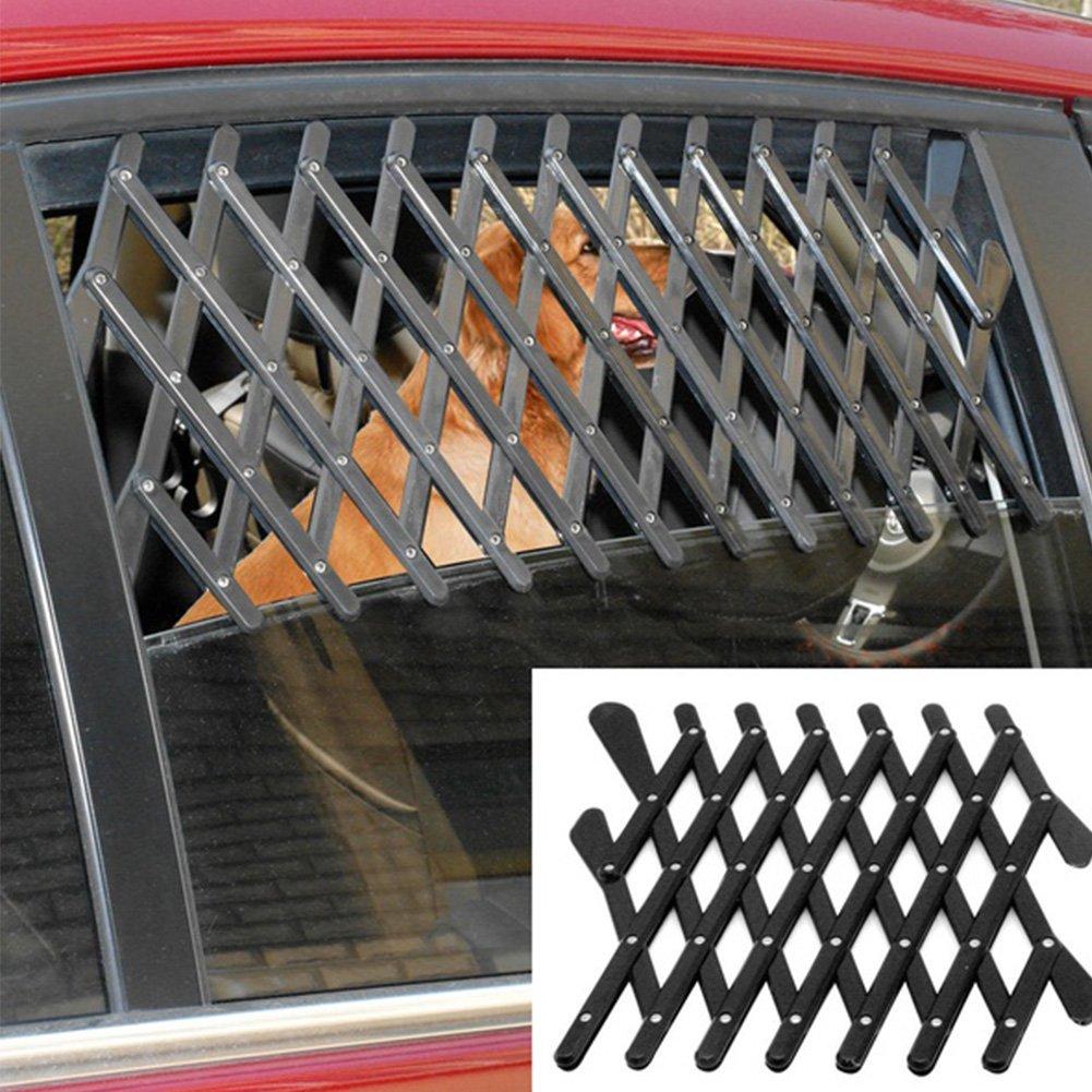 Perro Rejilla de ventilaci/ón para Ventana de Coche BHAIR5 Gato Seguridad telesc/ópica para Mascotas Felices