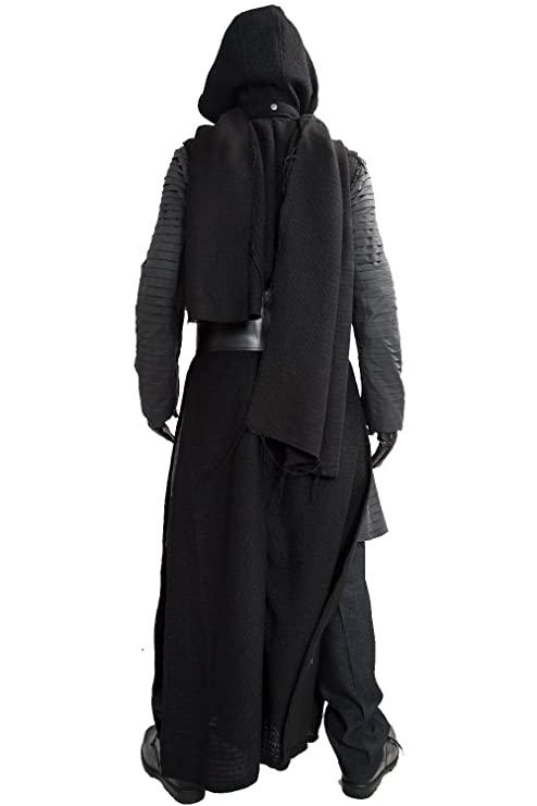 XCOSTUME® Mens Deluxe Kylo Ren Costume Full Suit New Version V3 with Belt & Gloves 2016
