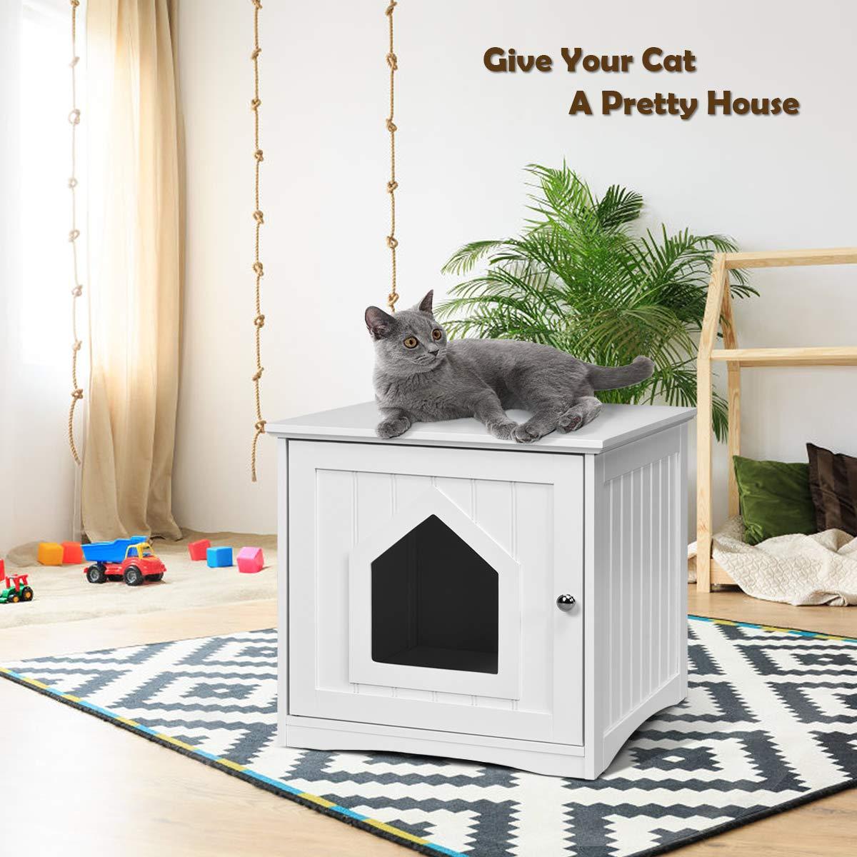 Amazon.com: Tangkula - Casa para mascotas, casa decorativa ...