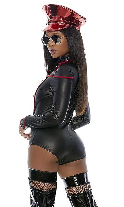Amazon.com: Forplay Militar de la mujer Cutout Romper con ...