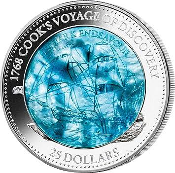 Power Coin Anthropocene Anthropozän Niob Bimetallisch Silber Münze