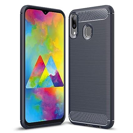 Amazon.com: Yoodi - Carcasa para Samsung Galaxy M20, textura ...