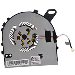 Deal4GO Replacement CPU Cooling Fan for Dell Inspiron 15-7560 7560 Vostro 5468 5568 series CPU Fan OWOJ85 DC28000ICR0