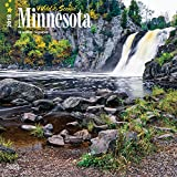 Minnesota, Wild & Scenic 2018 12 x 12 Inch Monthly Square Wall Calendar, USA United States of America Midwest State Nature