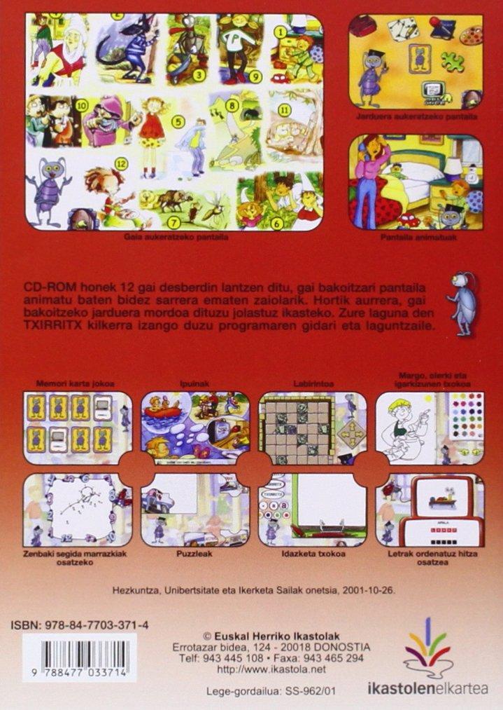 (CD-rom) txirritx (urtxintxa proiektua) 4 urte: Amazon.es: Libros