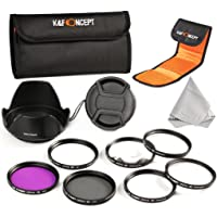 K&F Concept - 55mm Filtro Kit 7 Piezas