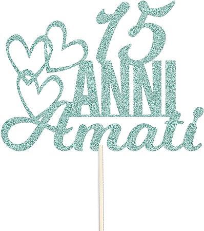 Anniversario 15 Anni Matrimonio.Snappypartyprops 15 Anni Amati Anniversario Di Matrimonio O