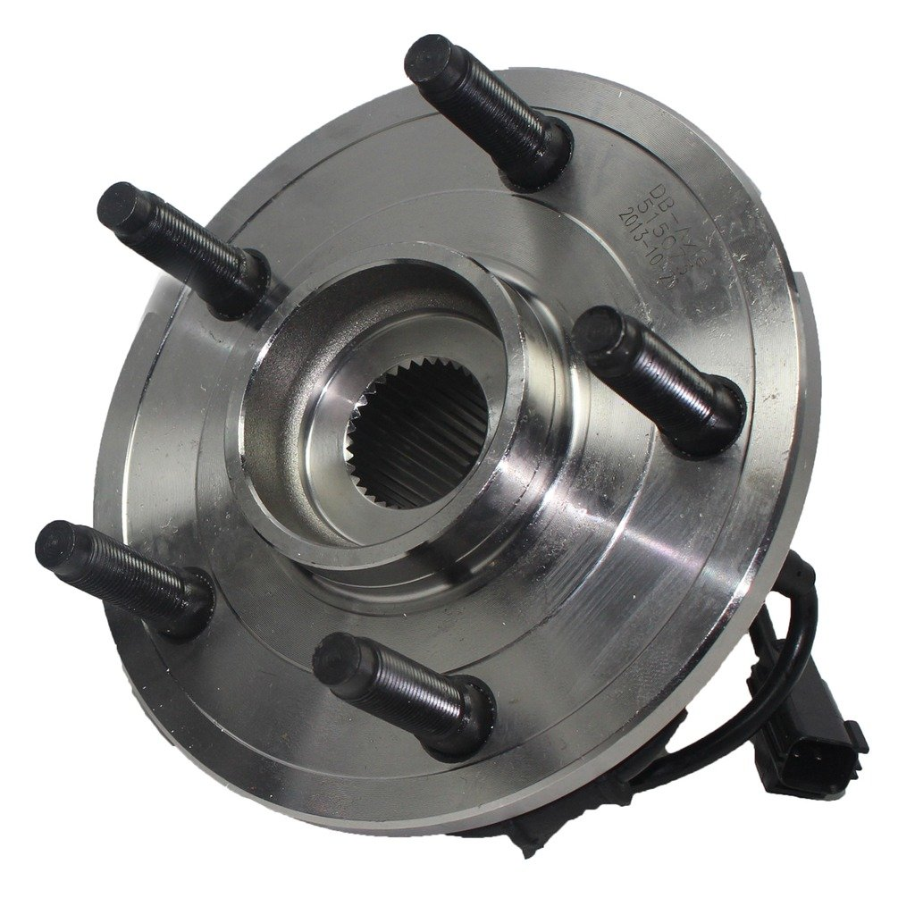 Detroit Axle Brand New Front Driver or Passenger Side Wheel Hub and Bearing Assembly for - 02-05 Dodge Ram 1500 w/ABS