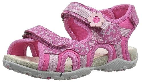 536920ba Geox Jr Sandal Roxanne C, Sandalias con Punta Abierta para Niñas:  Amazon.es: Zapatos y complementos