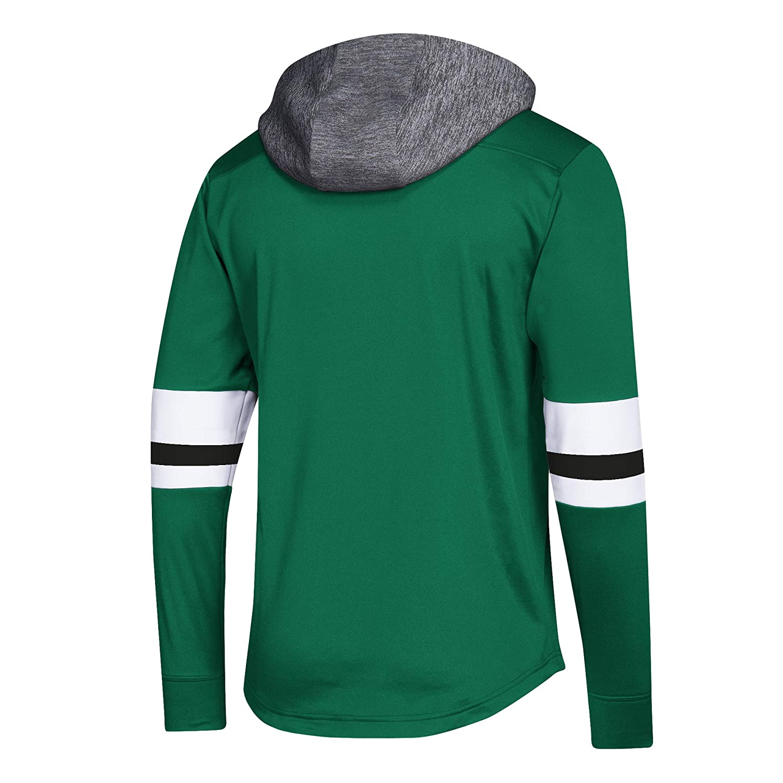 adbd429b8fc Amazon.com : adidas NHL Men's Platinum Jersey Hooded Sweatshirt : Clothing