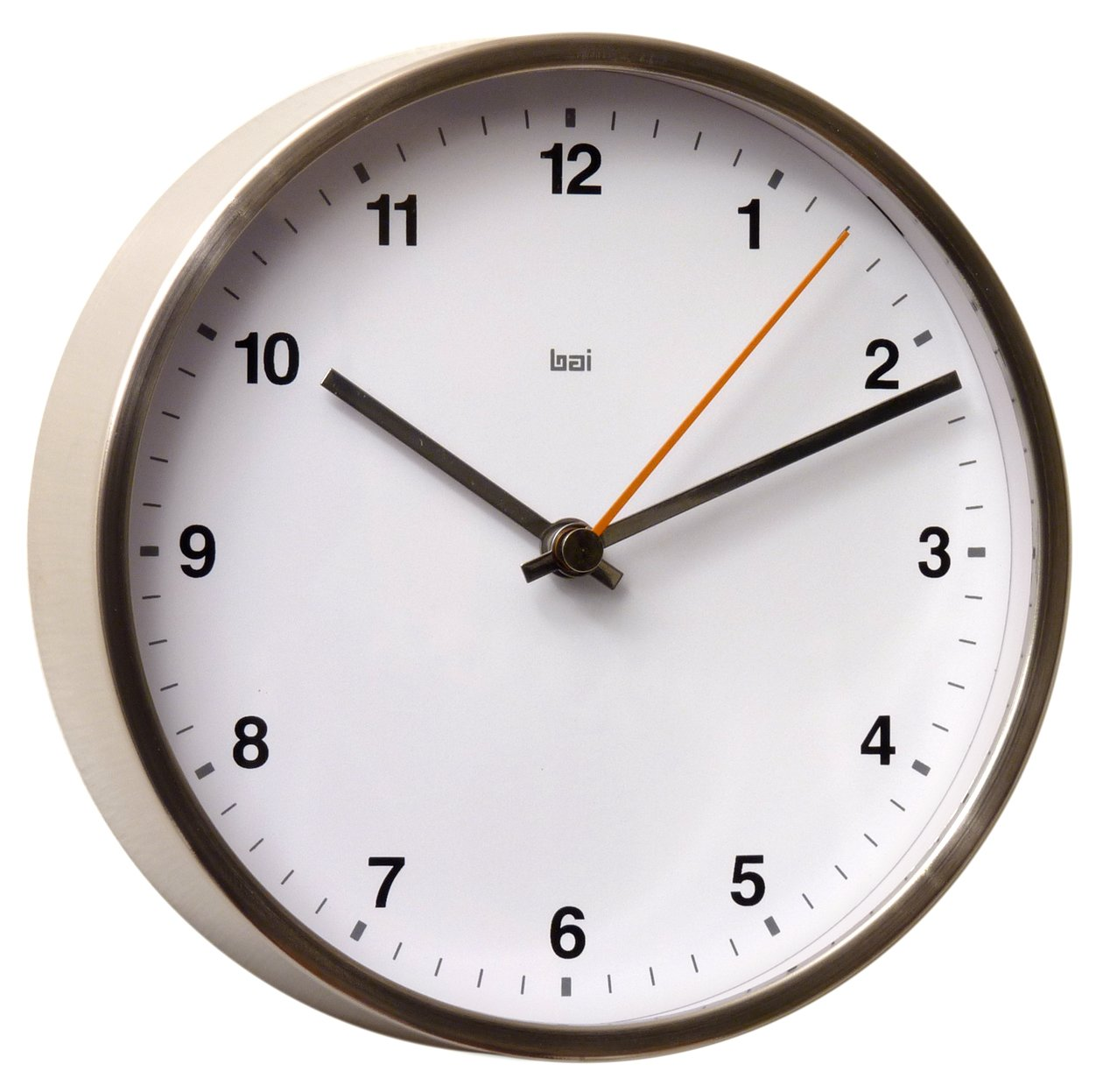 BAI Designer Wall Clock Helio Black