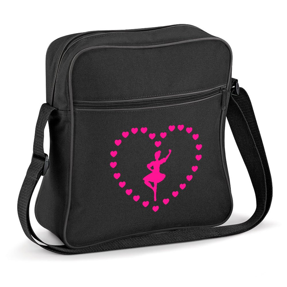 iClobber Highland Dancing Shoulder Bag Figure Heart Design Small Flight
