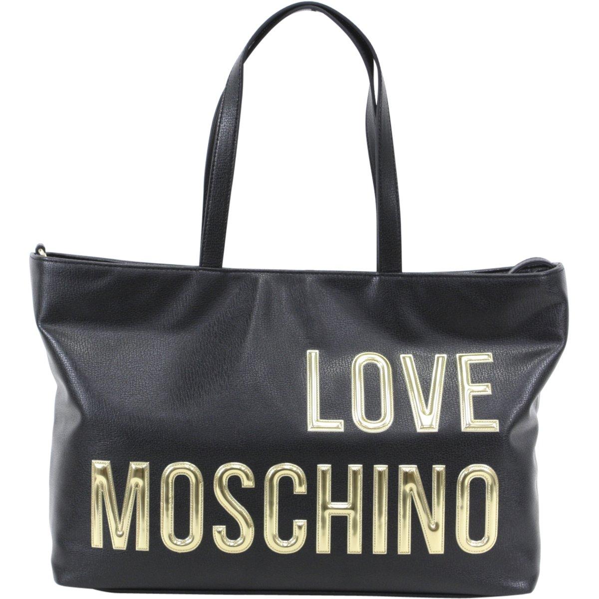 Love Moschino shopping bag Pu black