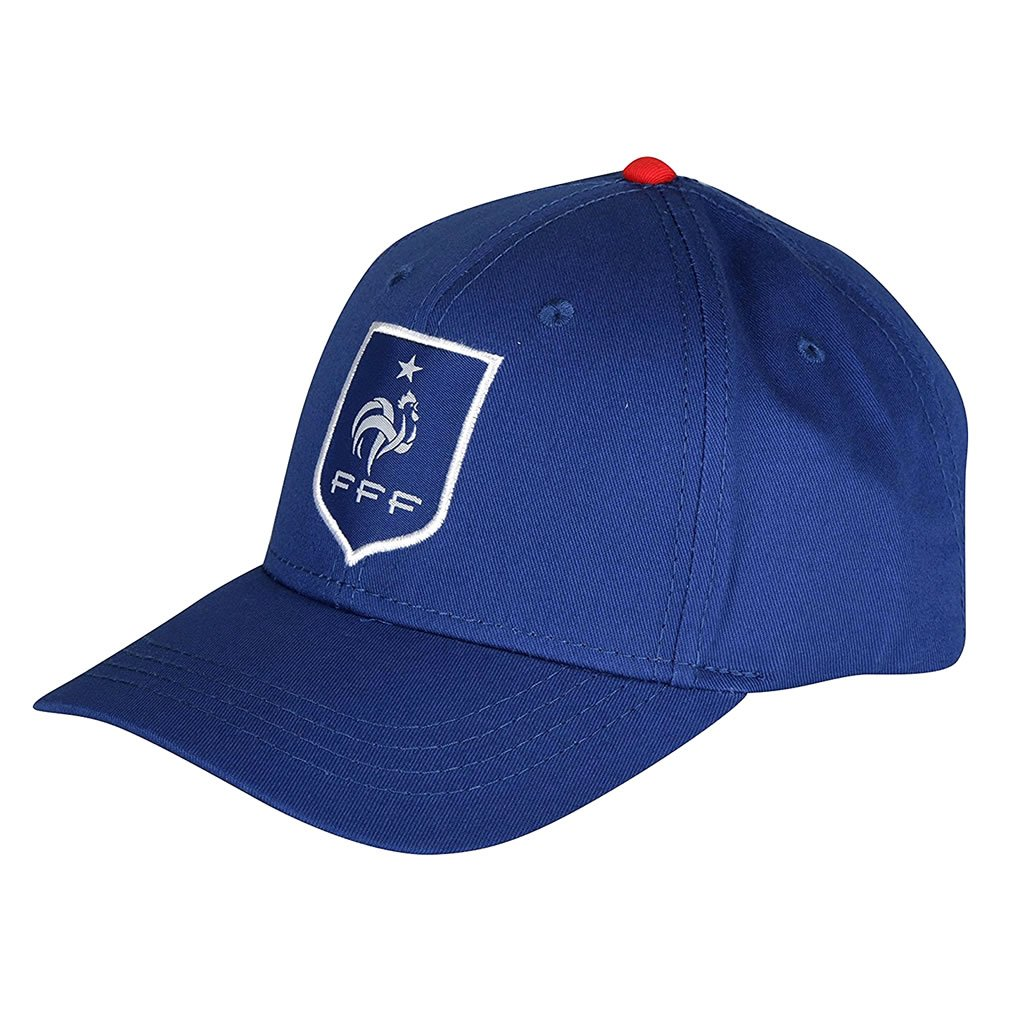 Caps and Hats of France French Football Federation - Official French  Football Federation Cap - Blue efce486c0a9