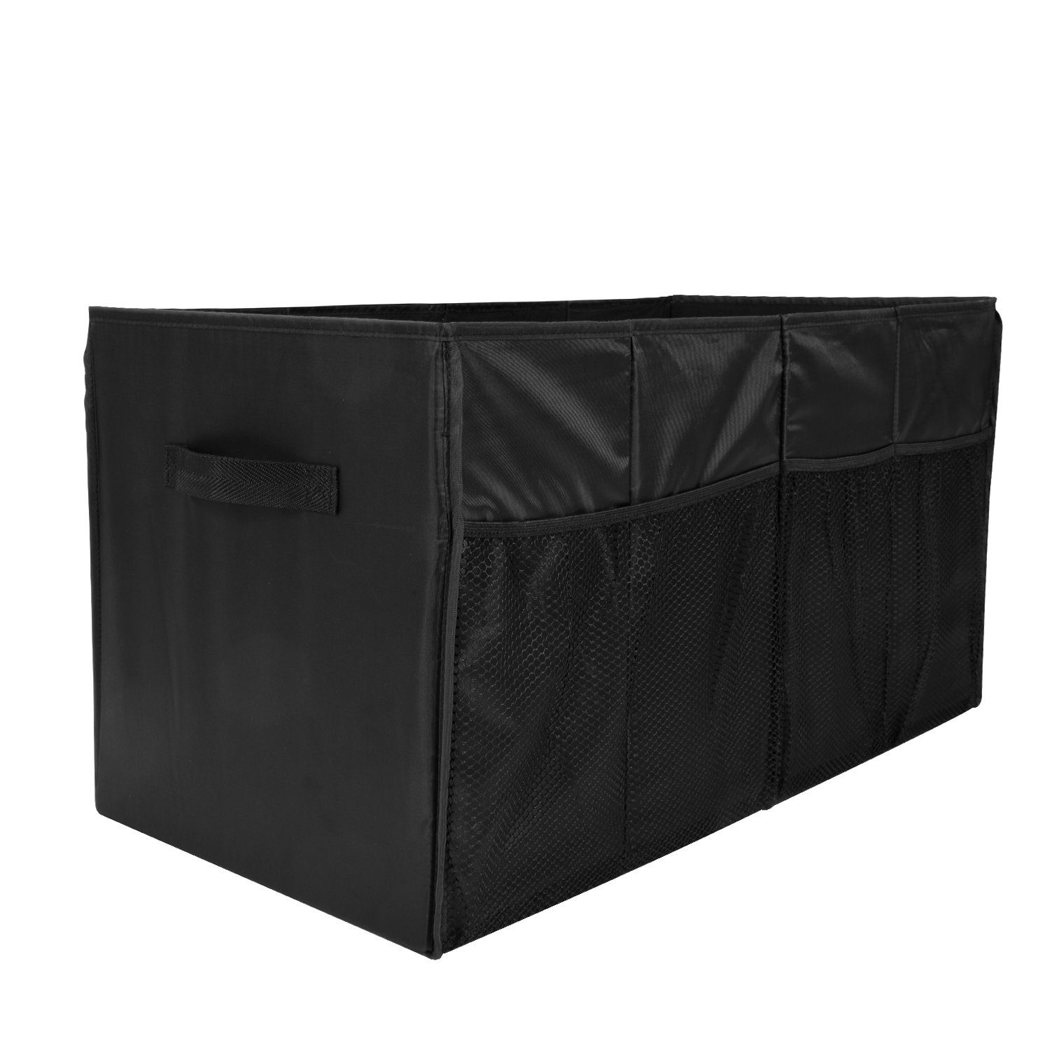 MaidMAX Car Trunk Organizer for SUV with Two Handles and Side Pockets, Foldable, Black, 25.5 Inches Long by MaidMAX (Image #8)