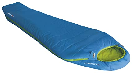 High Peak Hyperion 1 L Saco de Dormir, Unisex, Azul/Verde, 225