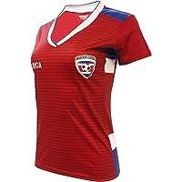 Women Fan Jersey Costa Rica Slim Fit Color Red