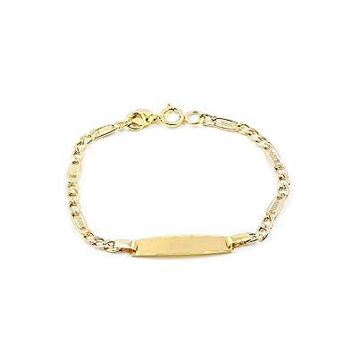 achats magasin officiel complet dans les spécifications Bracelet Enfant Or Jaune 9 Carats: Amazon.fr: Bijoux