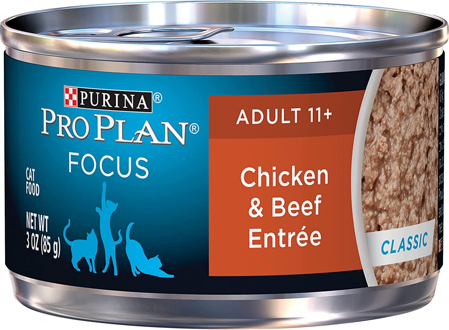 Purina Pro Plan Senior Canned Wet Cat Food