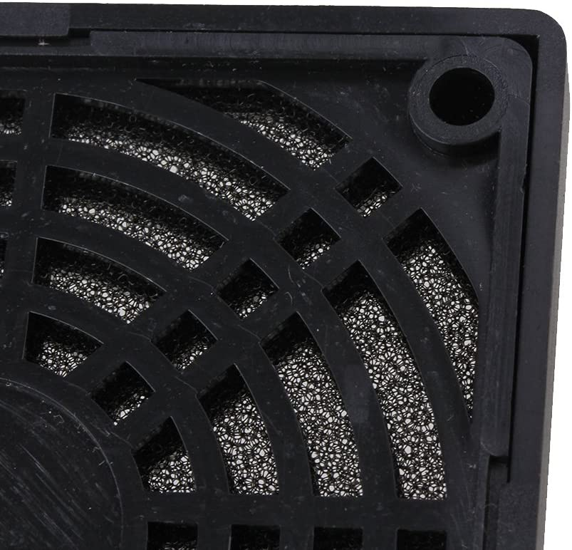 5pcs 80mm Dust-Proof Case Fan Dust Filter Guard Grill Protector Cover for PC
