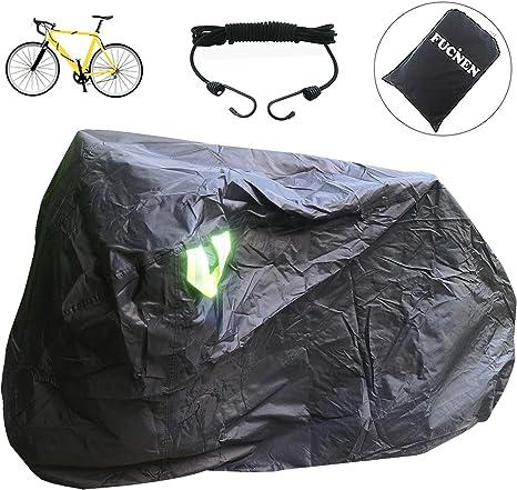 FUCNEN - Funda Protectora para Bicicleta de Interior y Exterior ...