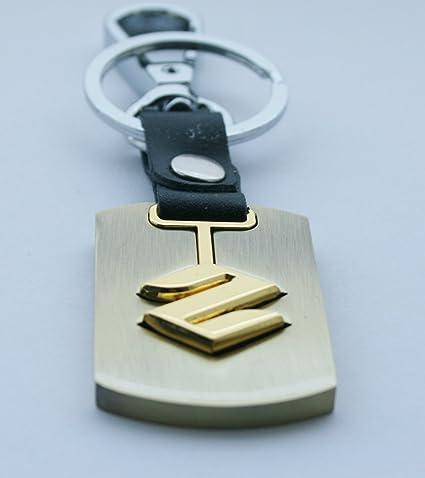 Porte-cl eacute  cl eacute s de voiture avec logo Suzuki 3D en m eacute  c2557886b7c
