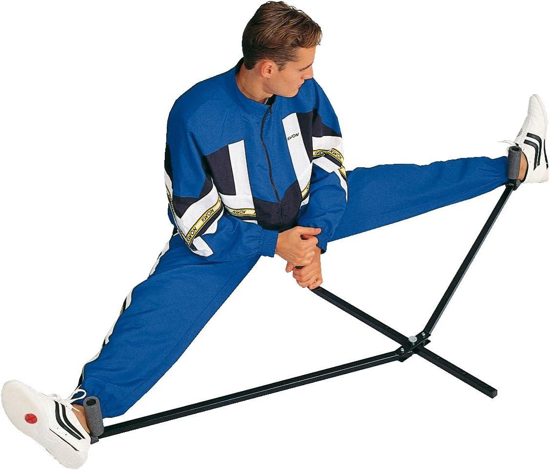 Estructura para entrenar la flexibilidad en las piernas metal KWON 4094015 color negro