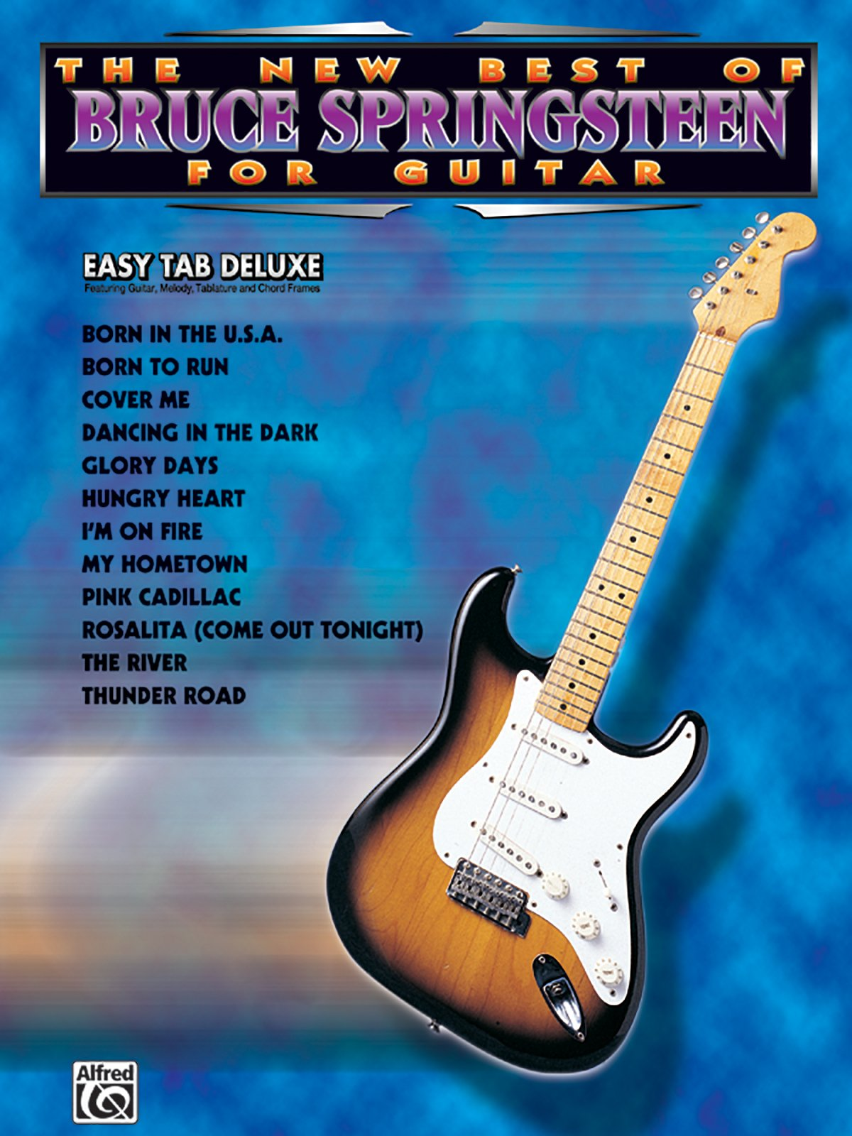 Amazon The New Best Of Bruce Springsteen For Guitar Easy Tab