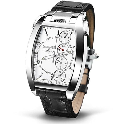 Chrono 4 Temerario Reloj Reloj de pulsera automático caja de acero inoxidable