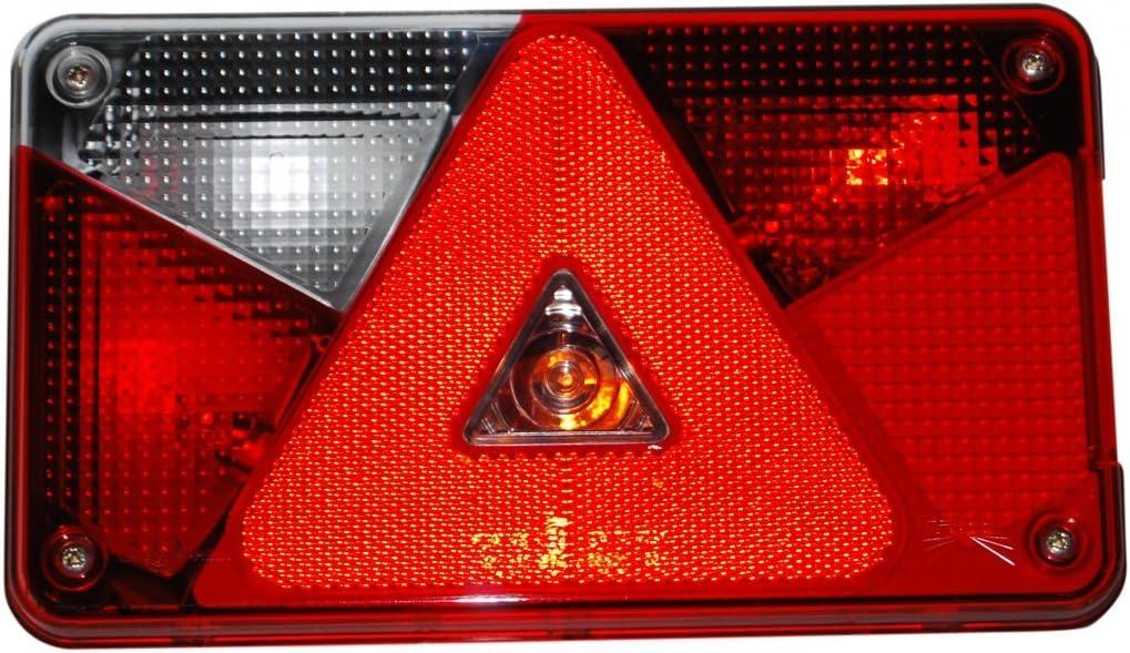 Aspöck Mehrfunktionsleuchte Multipoint V Links 102 42 31 Verkabelt Und Montierten Glühbirnen Auto
